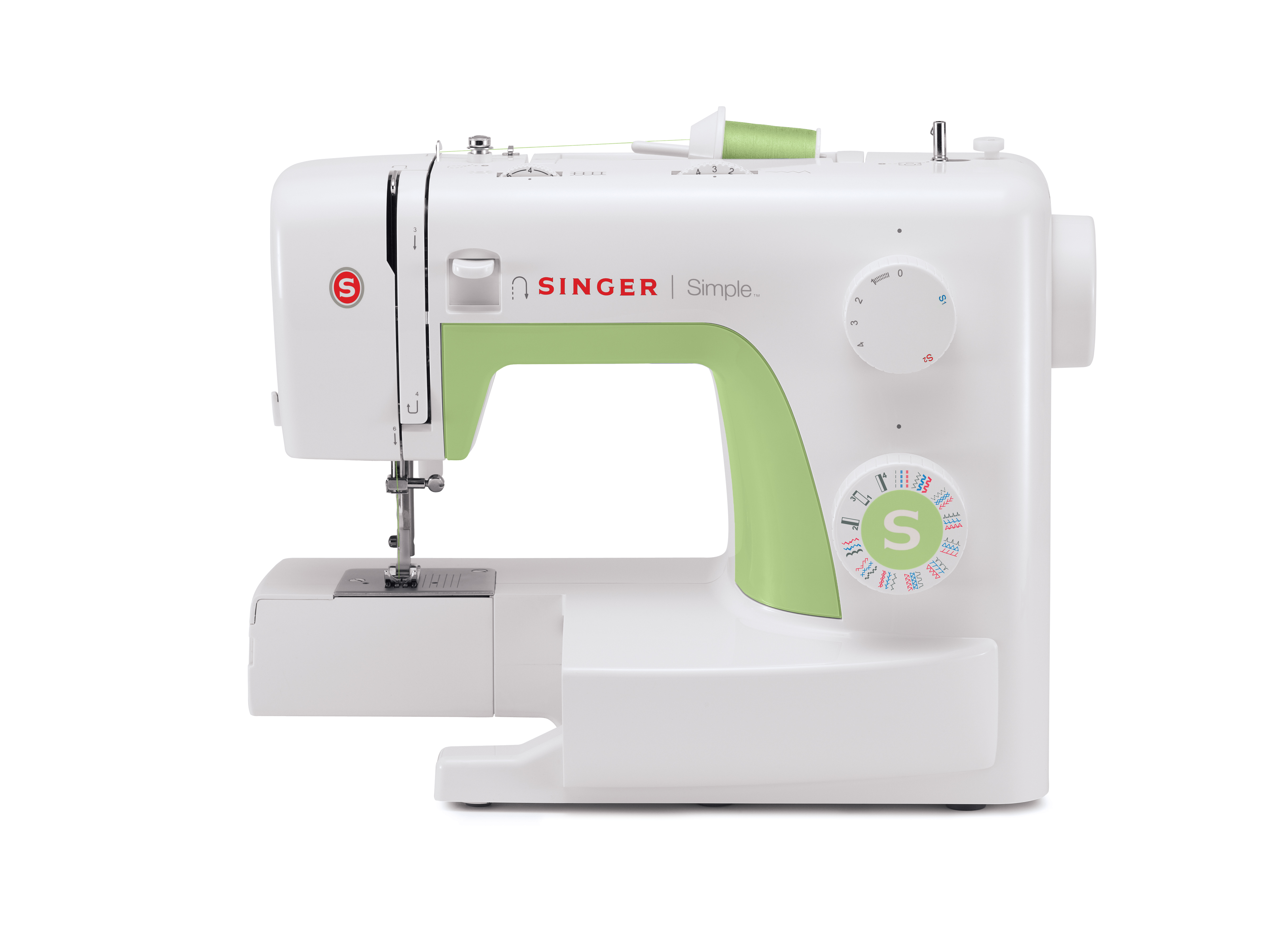 Simple 3229 - Singer Mechanical Sewing Machines