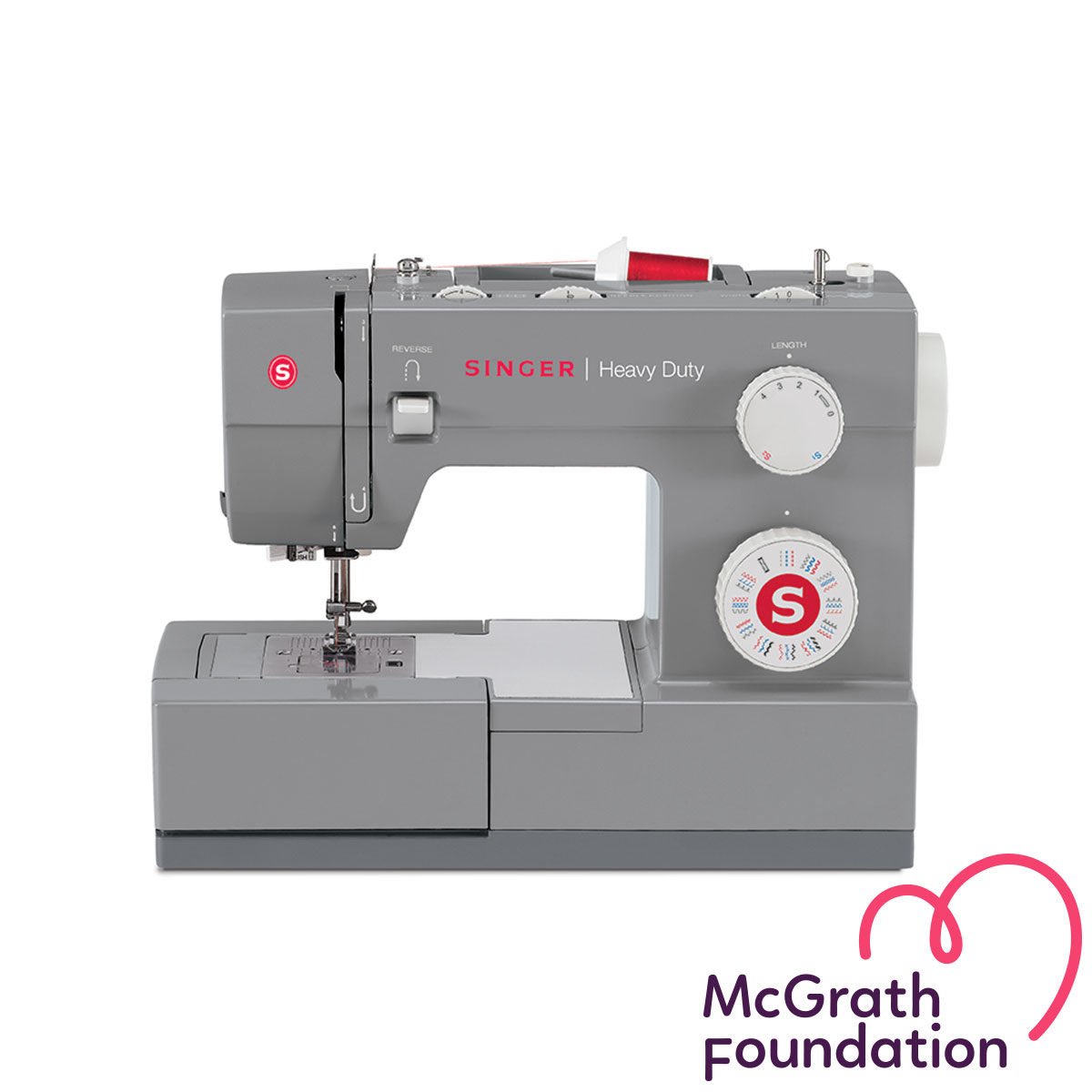 Heavy Duty 4432 - Singer Mechanical Sewing Machines