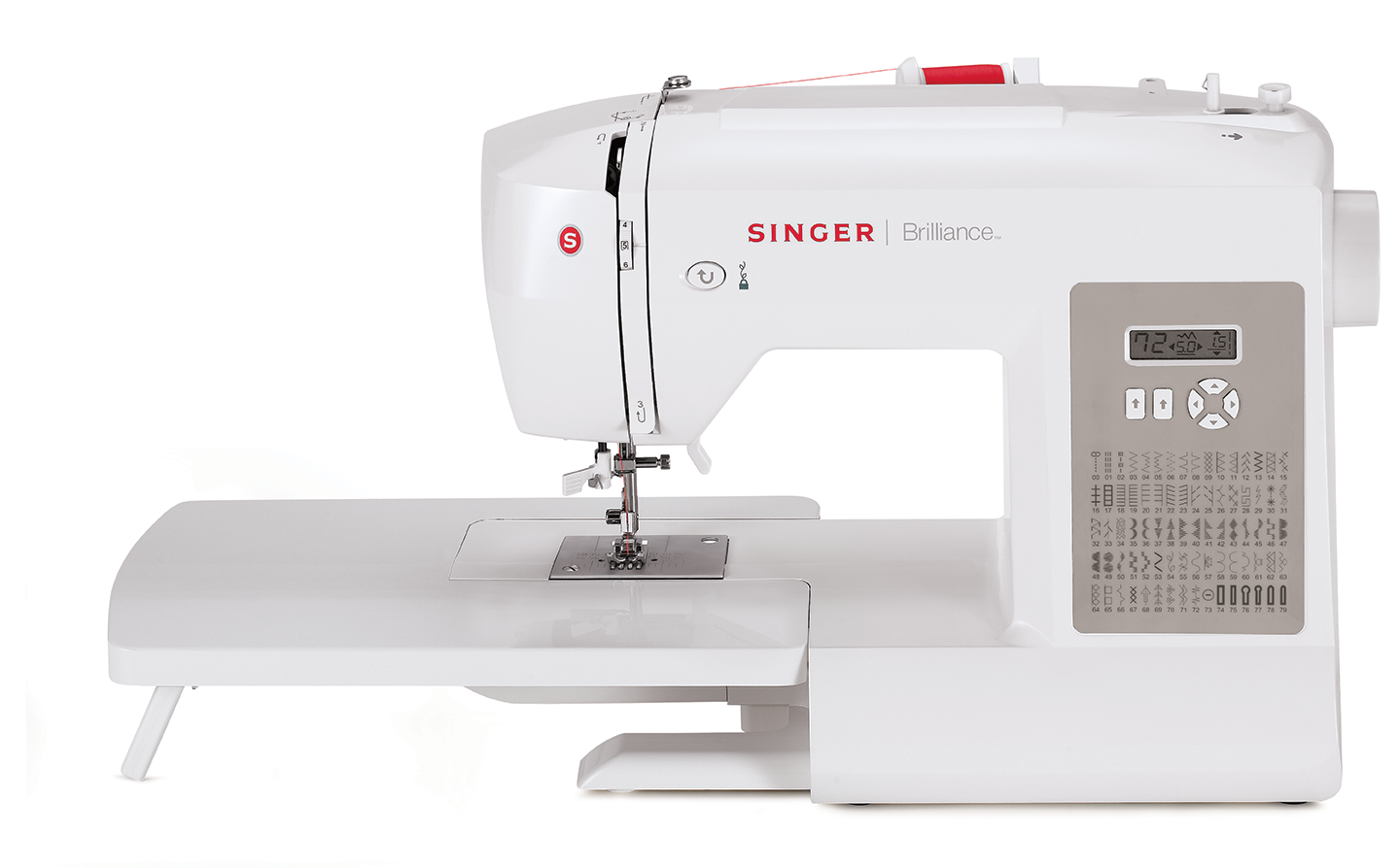 Brilliance 6180 - Singer Electronic Sewing Machines