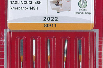 Overlocker Needles for 14SH, 14T, 14HD