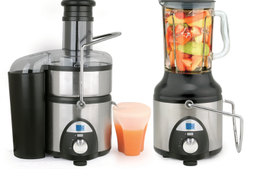 Stainless Steel Juicer with Blender