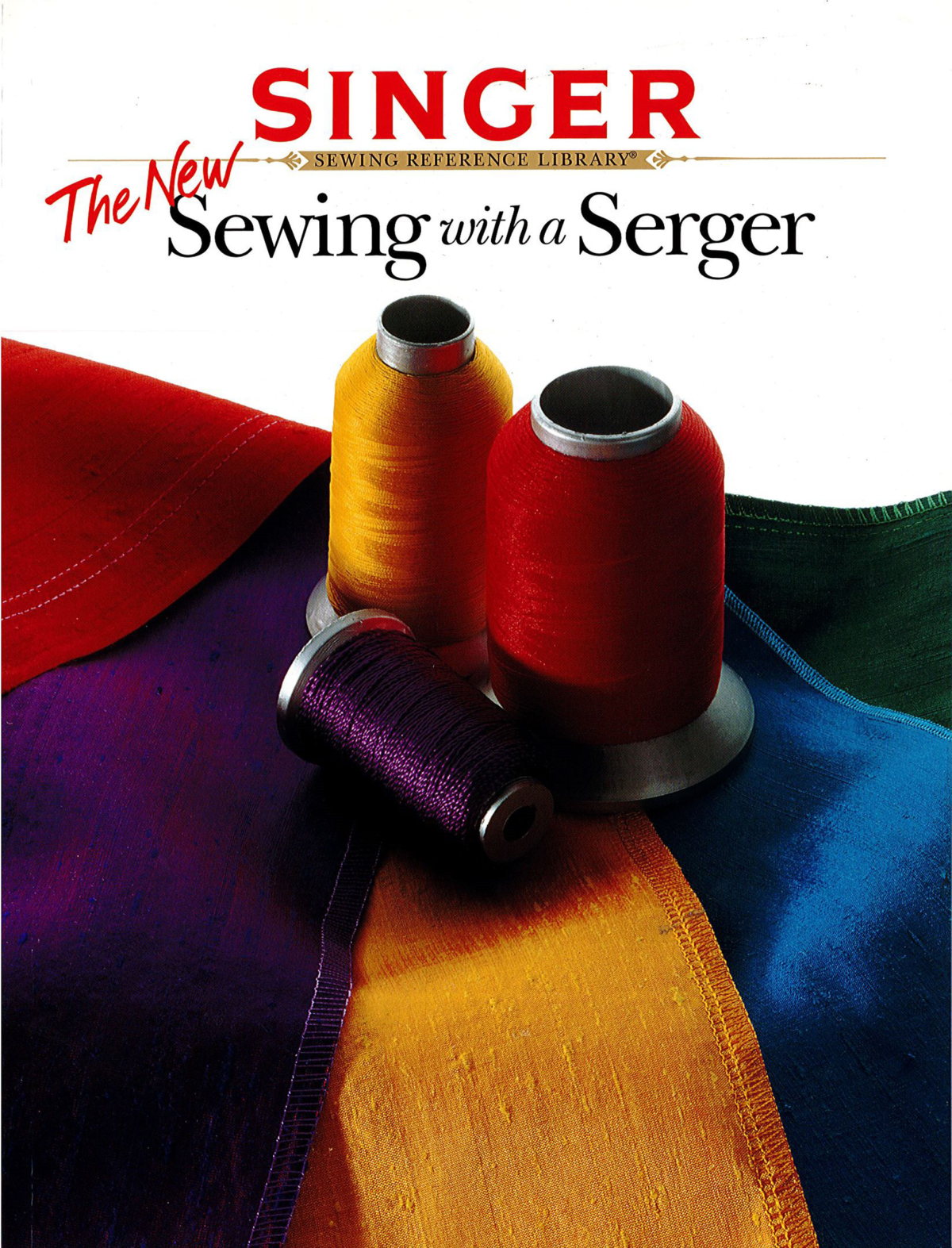 Singer Sewing with a Serger Book