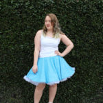 Easy Retro Circle Skirt