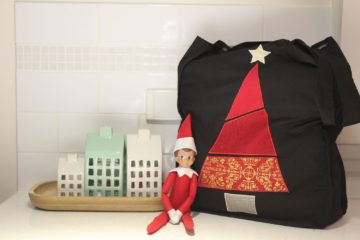 Tote Bag- Christmas Applique Edition