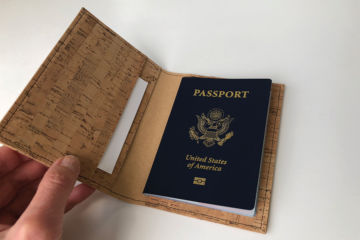 Cork Passport Cover