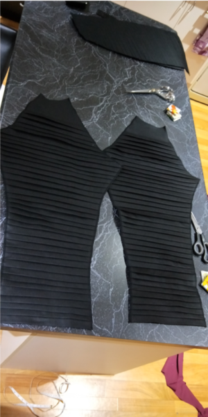 Join the Dark Side… with Pleats and Pin-tucks. Picture 8