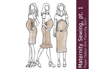 Maternity Sewing – The beginning…